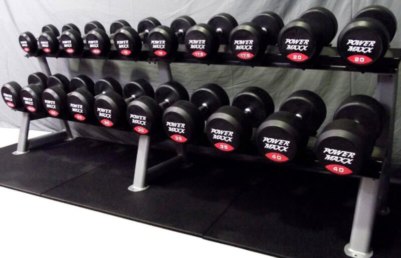 How To Choose the best free weights with rack for a home gym