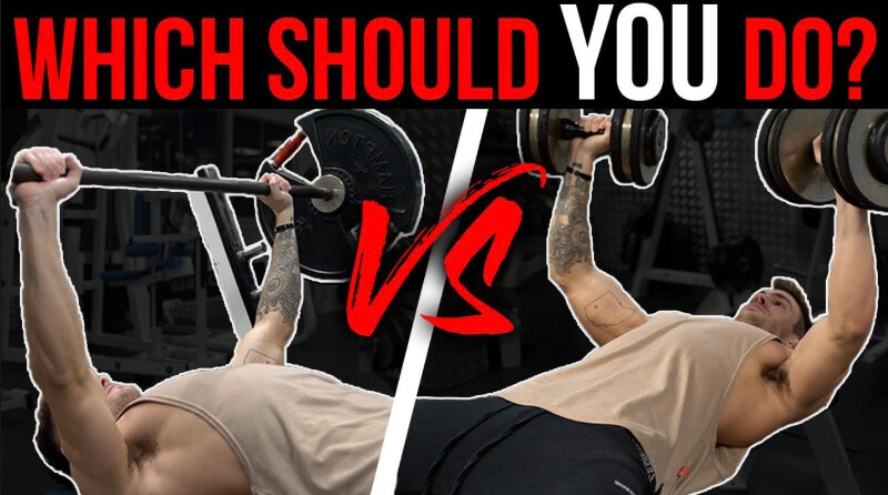 The Difference Between Barbell Vs Dumbbell