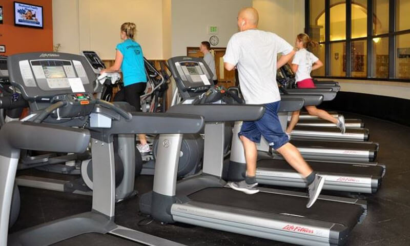 Running on treadmills