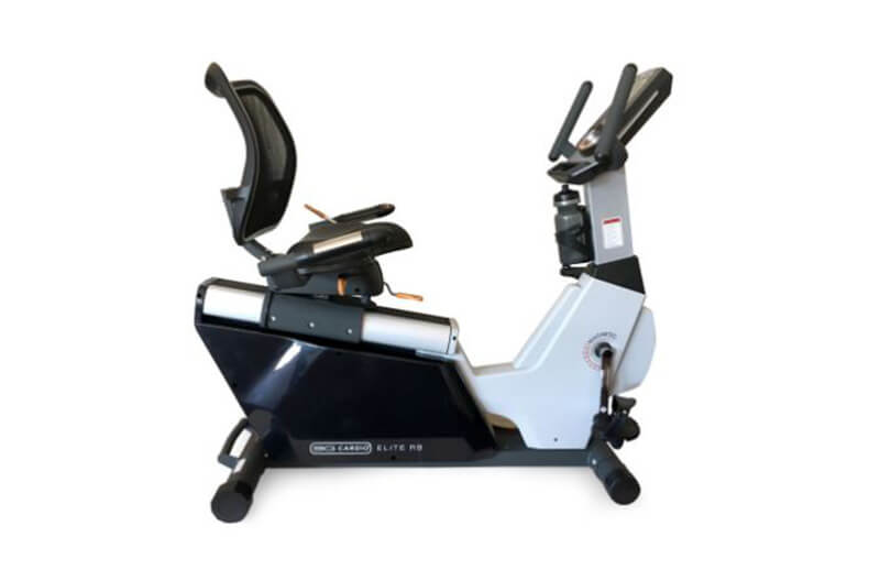 A small and compact exercise bike