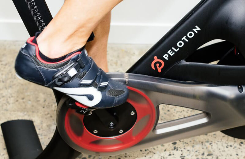 Peloton fitness equipment