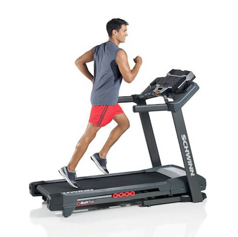 Schwinn treadmills come with high-quality.