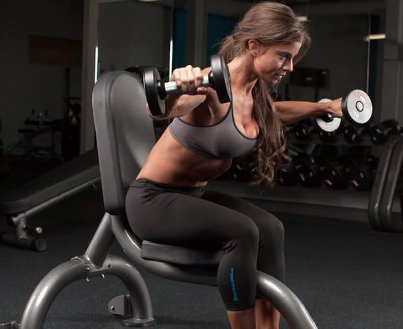 best rear delt dumbbell exercises