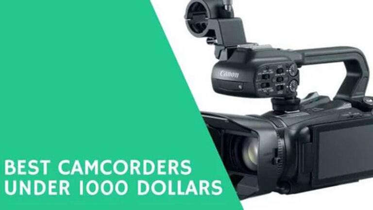 Top 19 Best 4K Camcorder Under 1000 Of 2020