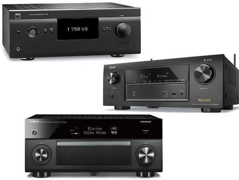 best av receiver for music
