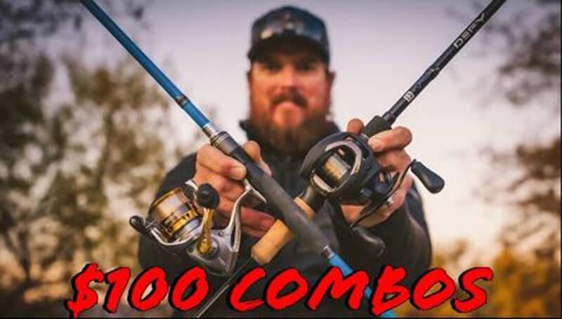 Reviews Best 9 Baitcaster Combo Under 100