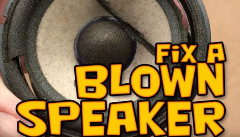 The Best Method How To Fix A Blown Speaker 2020