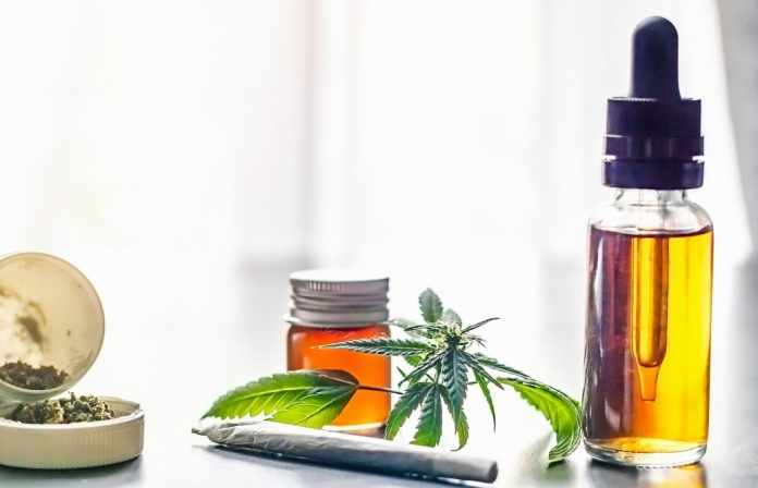 cannabis-joint-and-cbd-oil-dispensary-oil-bottle-drug-leafy-legalize-natural-growth-relief-medicine_t20_1QvLNN