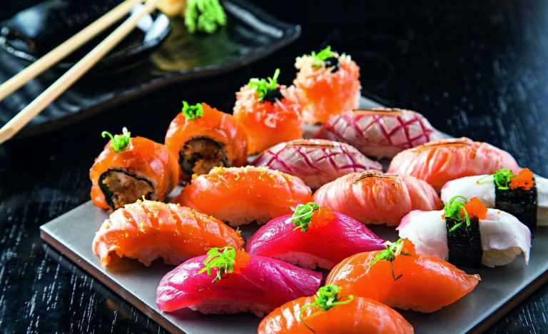 Is eating sushi good for you?