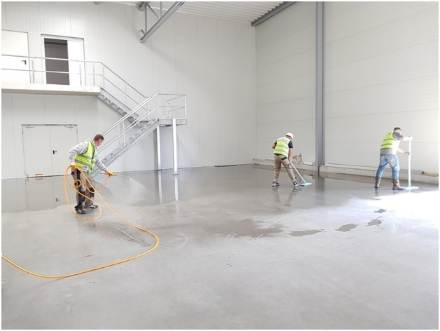 protective coating on your new or old concrete floor