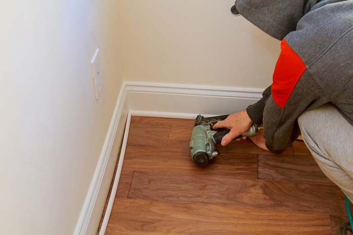 What size Finishing Nails for Baseboards?