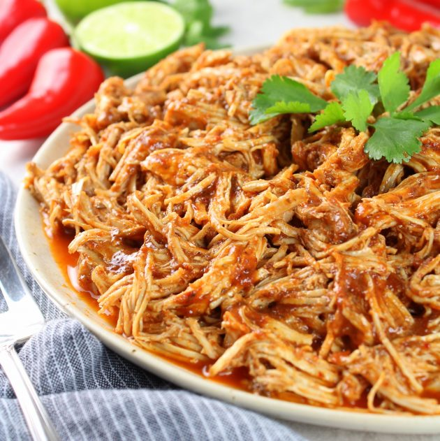 How to make instant pot shredded chicken?