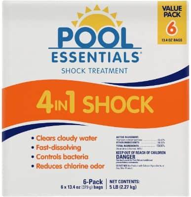 4 in 1 pool shocks