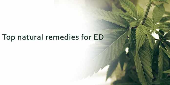natural remedies for ED
