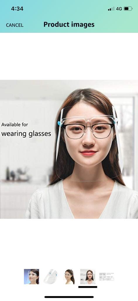 anti spitting glasses